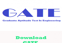 GATE Question Papers 2017