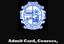 Goa University Question Papers